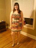 I don't like this picture that much, but this is the dress I was wearing.